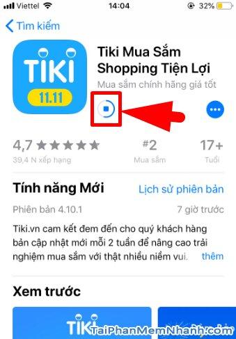 Hướng dẫn tải và cài đặt TiKi - Ứng dụng mua sắm trên iPhone, iPad + Hình 12