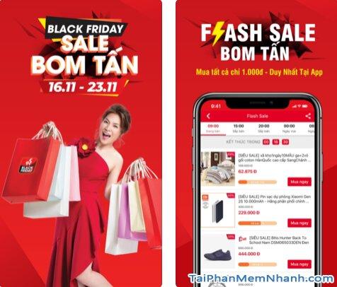 Hướng dẫn tải và cài đặt Sen Đỏ - Tiện ích mua sắm Online trên iOS + Hình 2