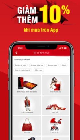 Hướng dẫn tải và cài đặt Sen Đỏ - Tiện ích mua sắm Online trên iOS + Hình 5