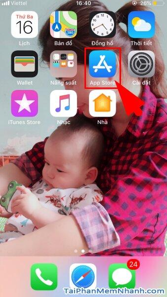 Hướng dẫn tải và cài đặt Sen Đỏ - Tiện ích mua sắm Online trên iOS + Hình 6