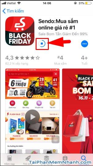 Hướng dẫn tải và cài đặt Sen Đỏ - Tiện ích mua sắm Online trên iOS + Hình 12