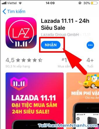 Hướng dẫn tải cài đặt Lazada - Ứng dụng mua sắm online trên iPhone, iPad + Hình 12