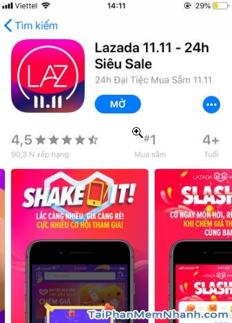 Hướng dẫn tải cài đặt Lazada - Ứng dụng mua sắm online trên iPhone, iPad + Hình 15