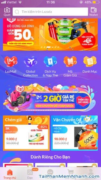 Hướng dẫn tải cài đặt Lazada - Ứng dụng mua sắm online trên iPhone, iPad + Hình 16