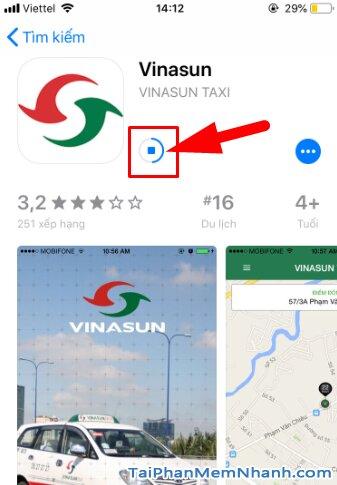 Tải và cài đặt ứng dụng gọi xe VinaSun Taxi cho điện thoại iOS + Hình 11
