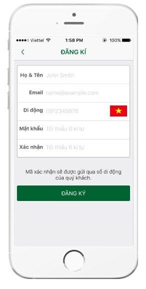 Tải và cài đặt ứng dụng gọi xe VinaSun Taxi cho điện thoại iOS + Hình 14