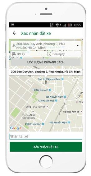 Tải và cài đặt ứng dụng gọi xe VinaSun Taxi cho điện thoại iOS + Hình 17