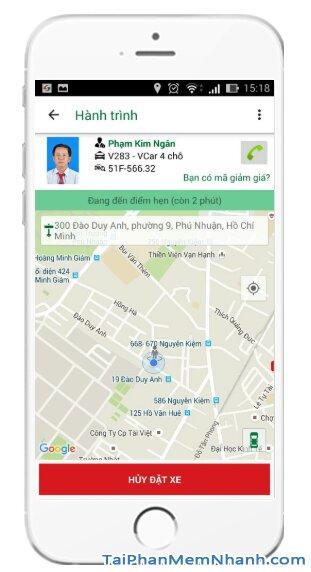 Tải và cài đặt ứng dụng gọi xe VinaSun Taxi cho điện thoại iOS + Hình 18