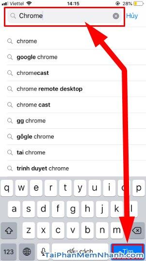 Tải cài đặt trình duyệt web nhanh Google Chrome cho iPhone, iPad + Hình 9