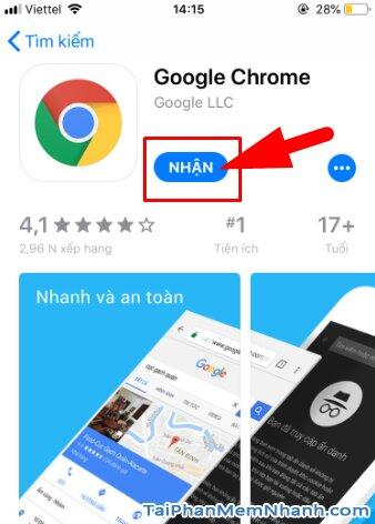 Tải cài đặt trình duyệt web nhanh Google Chrome cho iPhone, iPad + Hình 10