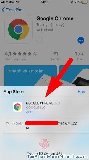 Tải cài đặt trình duyệt web nhanh Google Chrome cho iPhone, iPad + Hình 11