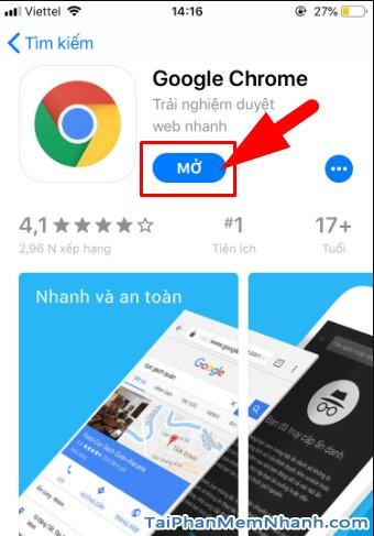 Tải cài đặt trình duyệt web nhanh Google Chrome cho iPhone, iPad + Hình 13