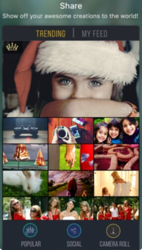 Tải cài đặt Vizmato cho iOS - Trình biên tập và thêm hiệu ứng độc đáo cho video + Hình 3
