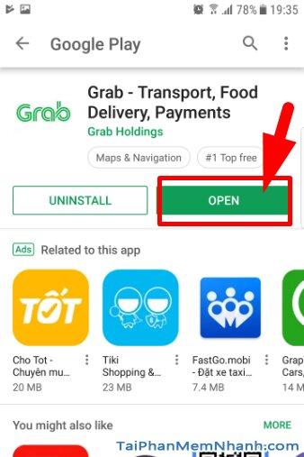 Hướng dẫn tải cài đặt ứng dụng gọi xe Grab cho Android + Hình 14