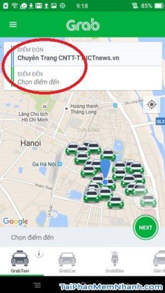 Hướng dẫn tải cài đặt ứng dụng gọi xe Grab cho Android + Hình 19