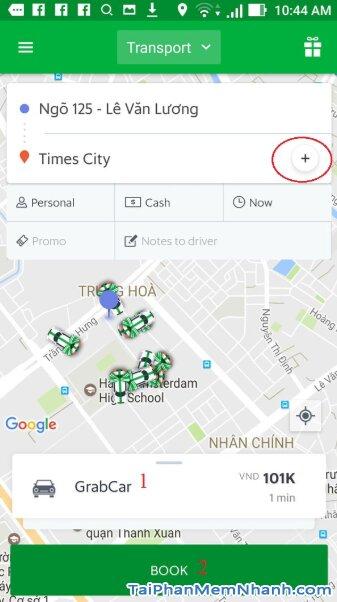 Hướng dẫn tải cài đặt ứng dụng gọi xe Grab cho Android + Hình 21