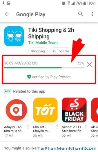 Tải và cài đặt ứn dụng mua sắm online TIKI cho Android + Hình 12