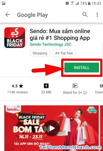 Tải và Cài đặt ứng dụng mua sắm giá rẻ SenDo cho Android + Hình 10
