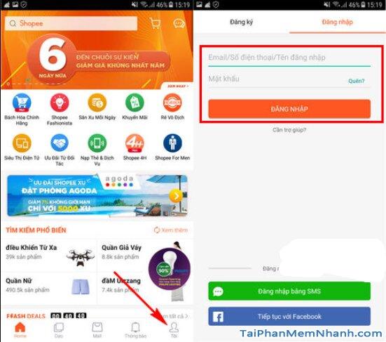 Tải và Cài đặt ứng dụng mua sắm Online Shopee cho Android + Hình 3