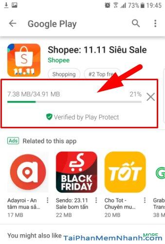 Tải và Cài đặt ứng dụng mua sắm Online Shopee cho Android + Hình 9