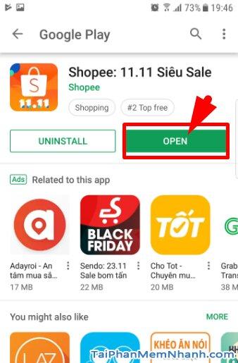 Tải và Cài đặt ứng dụng mua sắm Online Shopee cho Android + Hình 10