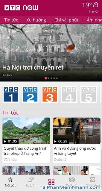 Tải VTC NOW cho Android - Ứng dụng Xem truyền hình VTC trên Mobile + Hình 3