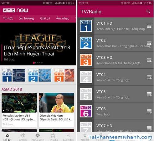 Tải VTC NOW cho Android - Ứng dụng Xem truyền hình VTC trên Mobile + Hình 4