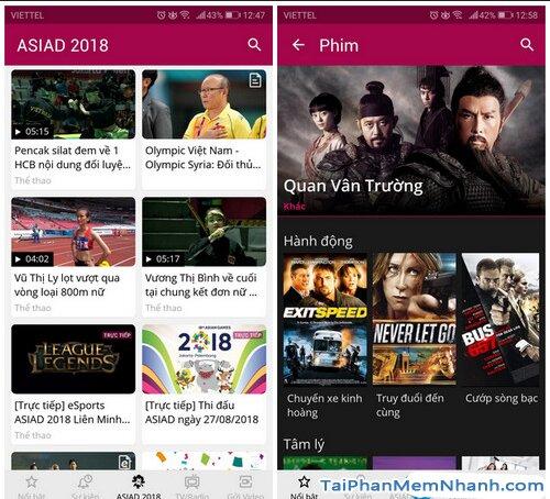 Tải VTC NOW cho Android - Ứng dụng Xem truyền hình VTC trên Mobile + Hình 5