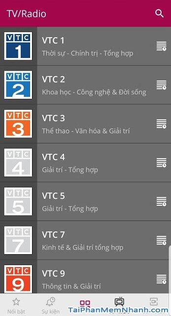 Tải VTC NOW cho Android - Ứng dụng Xem truyền hình VTC trên Mobile + Hình 6
