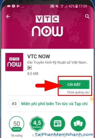 Tải VTC NOW cho Android - Ứng dụng Xem truyền hình VTC trên Mobile + Hình 10