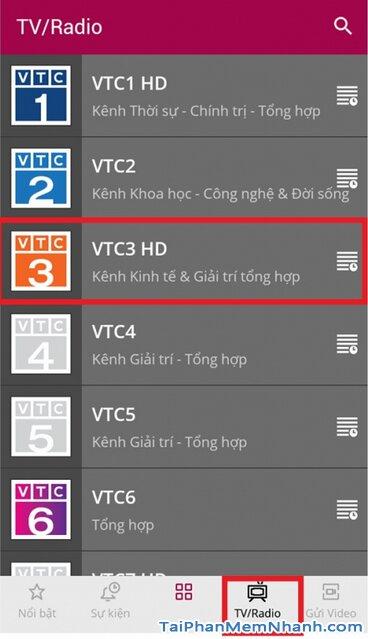 Tải VTC NOW cho Android - Ứng dụng Xem truyền hình VTC trên Mobile + Hình 15