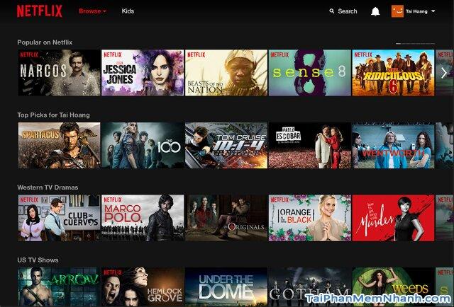 Tải Netflix - Ứng dụng xem truyền hình quốc tế trên Android + Hình 2
