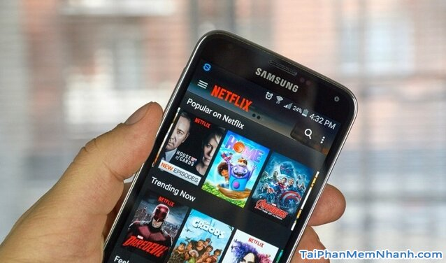 Tải Netflix - Ứng dụng xem truyền hình quốc tế trên Android + Hình 3