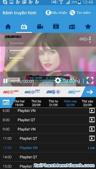 Tải VTC Play - Ứng dụng xem truyền hình trực tuyến trên Android + Hình 3