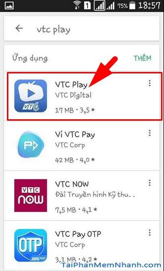 Tải VTC Play - Ứng dụng xem truyền hình trực tuyến trên Android + Hình 8