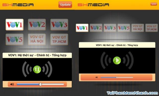 Tải ứng dụng VOV Media - Đài tiếng nói Việt Nam cho Android + Hình 3
