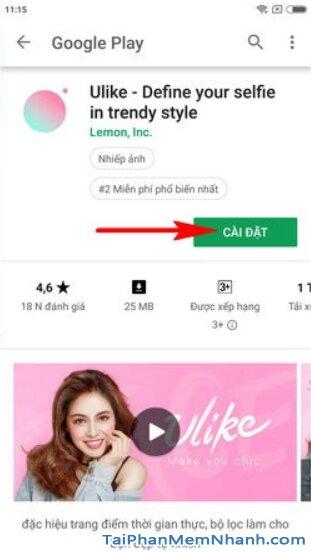 Tải Ulike - Ứng dụng chụp ảnh đẹp cho điện thoại Android + Hình 10