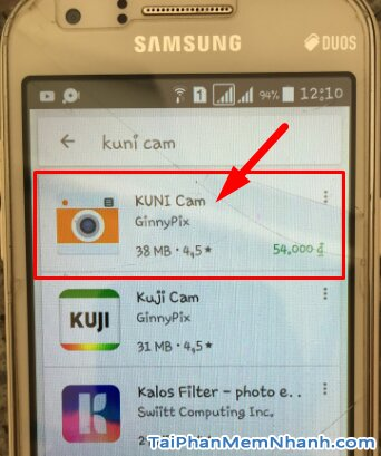Tải Kuni Cam - Ứng dụng chụp ảnh theo phong cách cổ điển cho Android + Hình 12