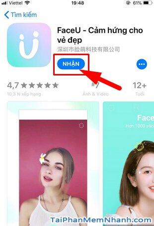 Tải FaceU - Ứng dụng chụp ảnh, selfie cho điện thoại iPhone, iPad + Hình 9