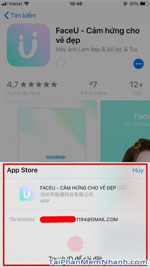 Tải FaceU - Ứng dụng chụp ảnh, selfie cho điện thoại iPhone, iPad + Hình 10