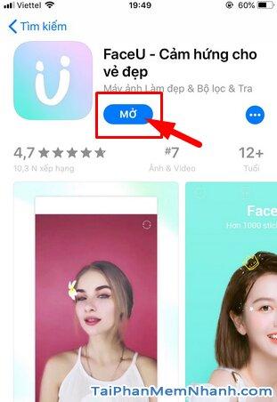 Tải FaceU - Ứng dụng chụp ảnh, selfie cho điện thoại iPhone, iPad + Hình 12