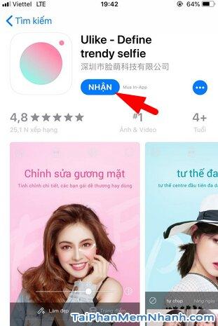 Tải cài đặt Ulike - Ứng dụng selfie, chỉnh sửa ảnh cho iOS + Hình 9