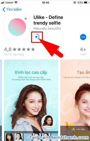 Tải cài đặt Ulike - Ứng dụng selfie, chỉnh sửa ảnh cho iOS + Hình 11