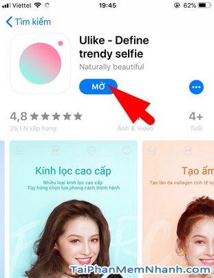 Tải cài đặt Ulike - Ứng dụng selfie, chỉnh sửa ảnh cho iOS + Hình 12