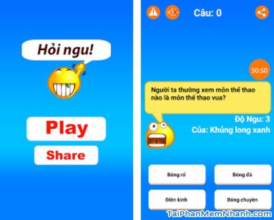 Tải cài đặt game Hỏi Ngu - Đố Vui Hại Não 2019 cho iPhone, iPad + Hình 2
