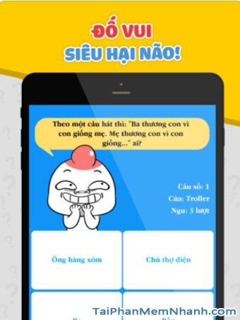 Tải cài đặt game Hỏi Ngu - Đố Vui Hại Não 2019 cho iPhone, iPad + Hình 3