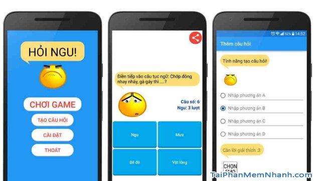 Tải cài đặt game Hỏi Ngu - Đố Vui Hại Não 2019 cho iPhone, iPad + Hình 4