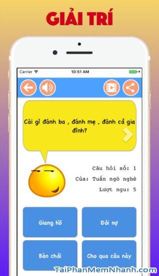 Tải cài đặt game Hỏi Ngu - Đố Vui Hại Não 2019 cho iPhone, iPad + Hình 6