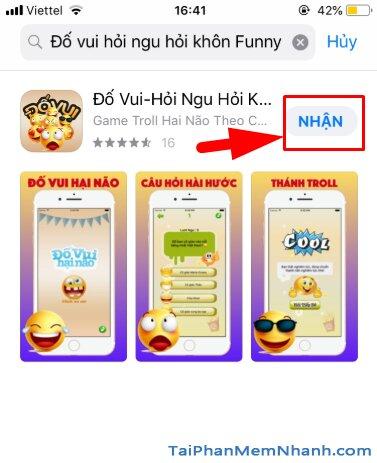 Tải cài đặt game Đố Vui - Hỏi Ngu Hỏi Khôn Funny cho iOS + Hình 10