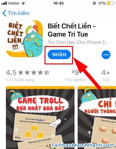 Tải và Cài đặt game Biết Chết Liền cho điện thoại iPhone, iPad + Hình 15